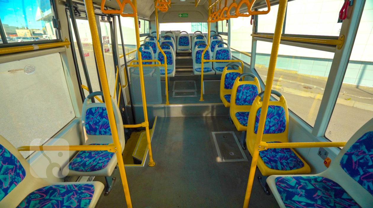 Пассажирские сидения в автобусе Yutong ZK6852HG