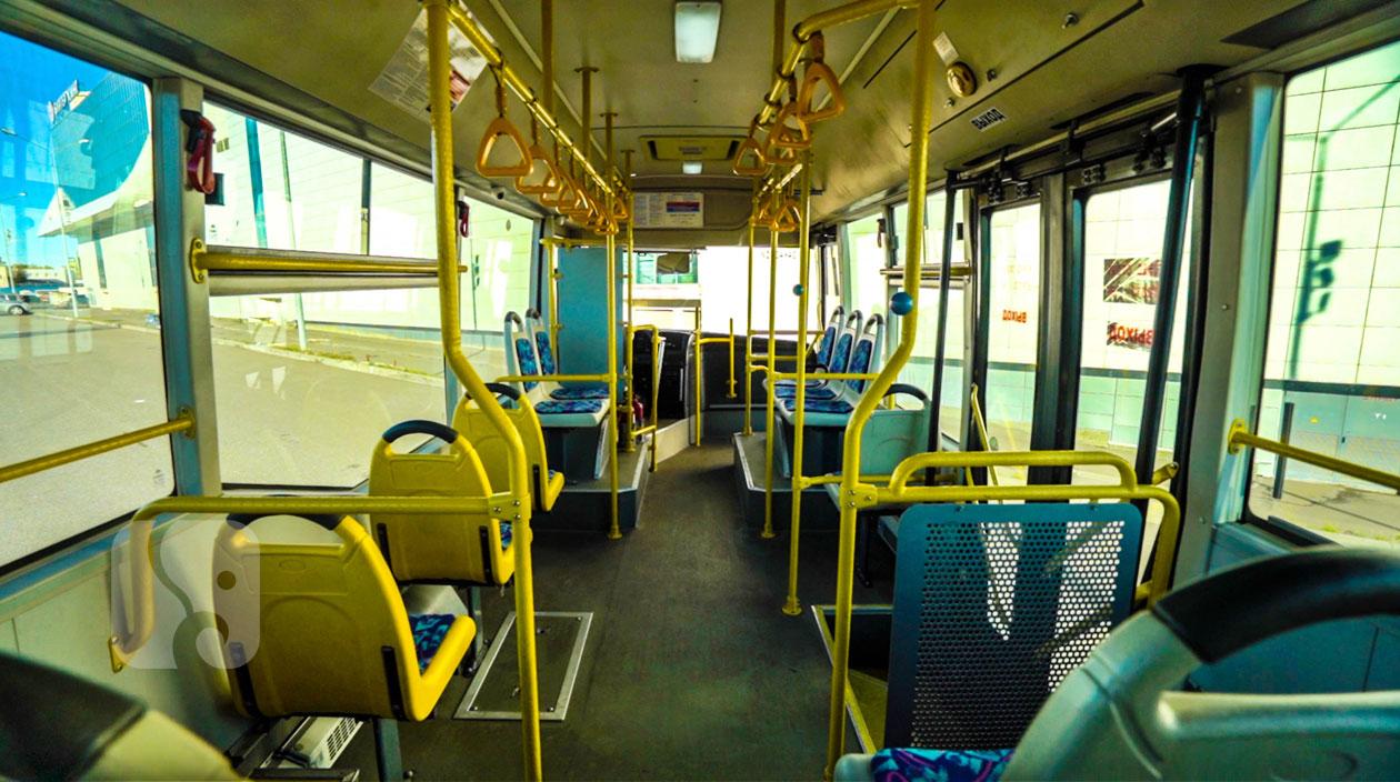 Салон автобуса Yutong ZK6852HG