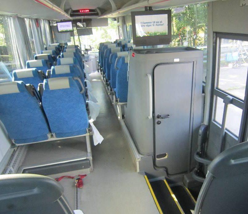Пассажирские сидения в автобусе ManLion'sRegio