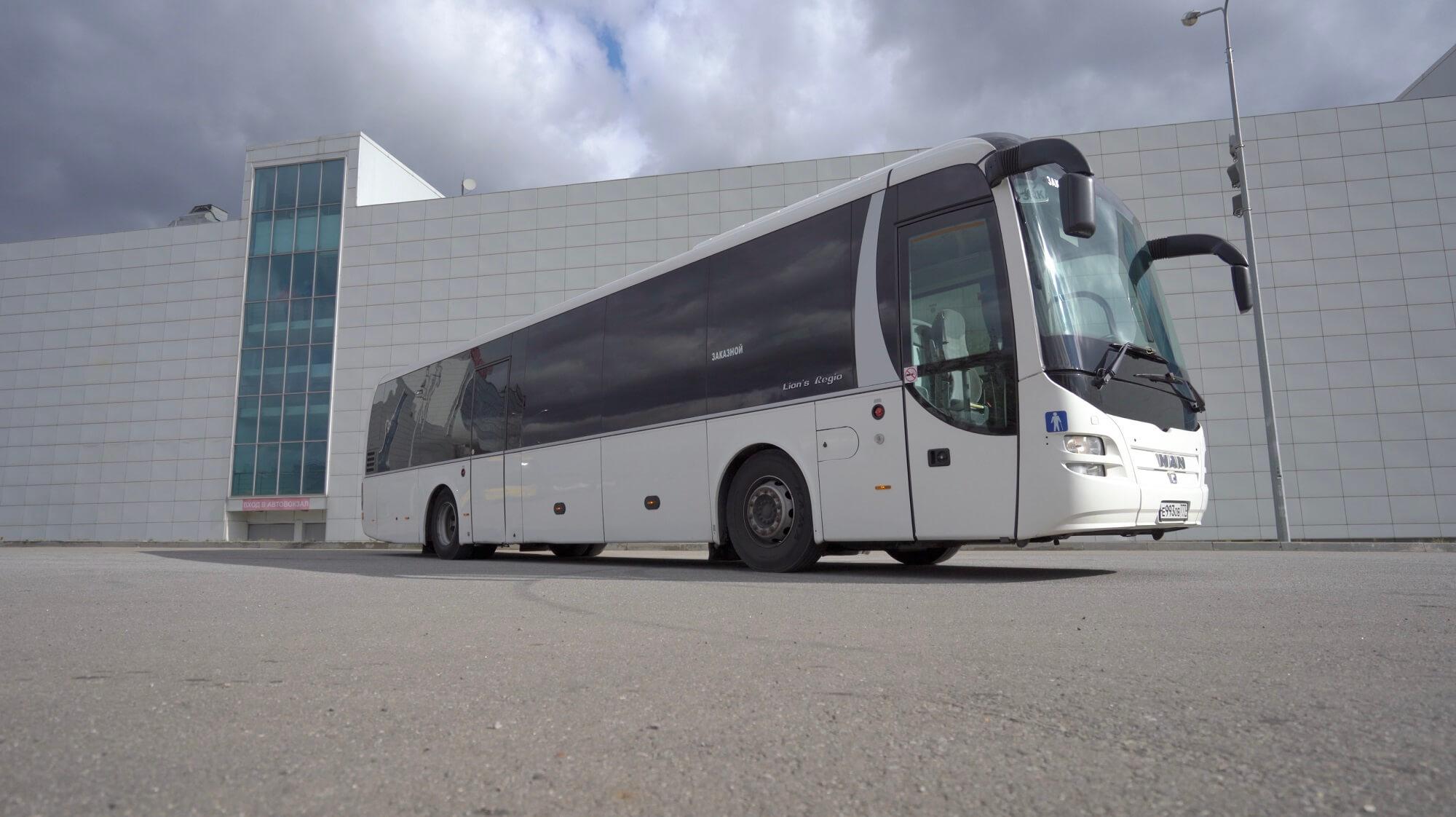 Man (993) 55+1 - аренда автобуса в Москве.