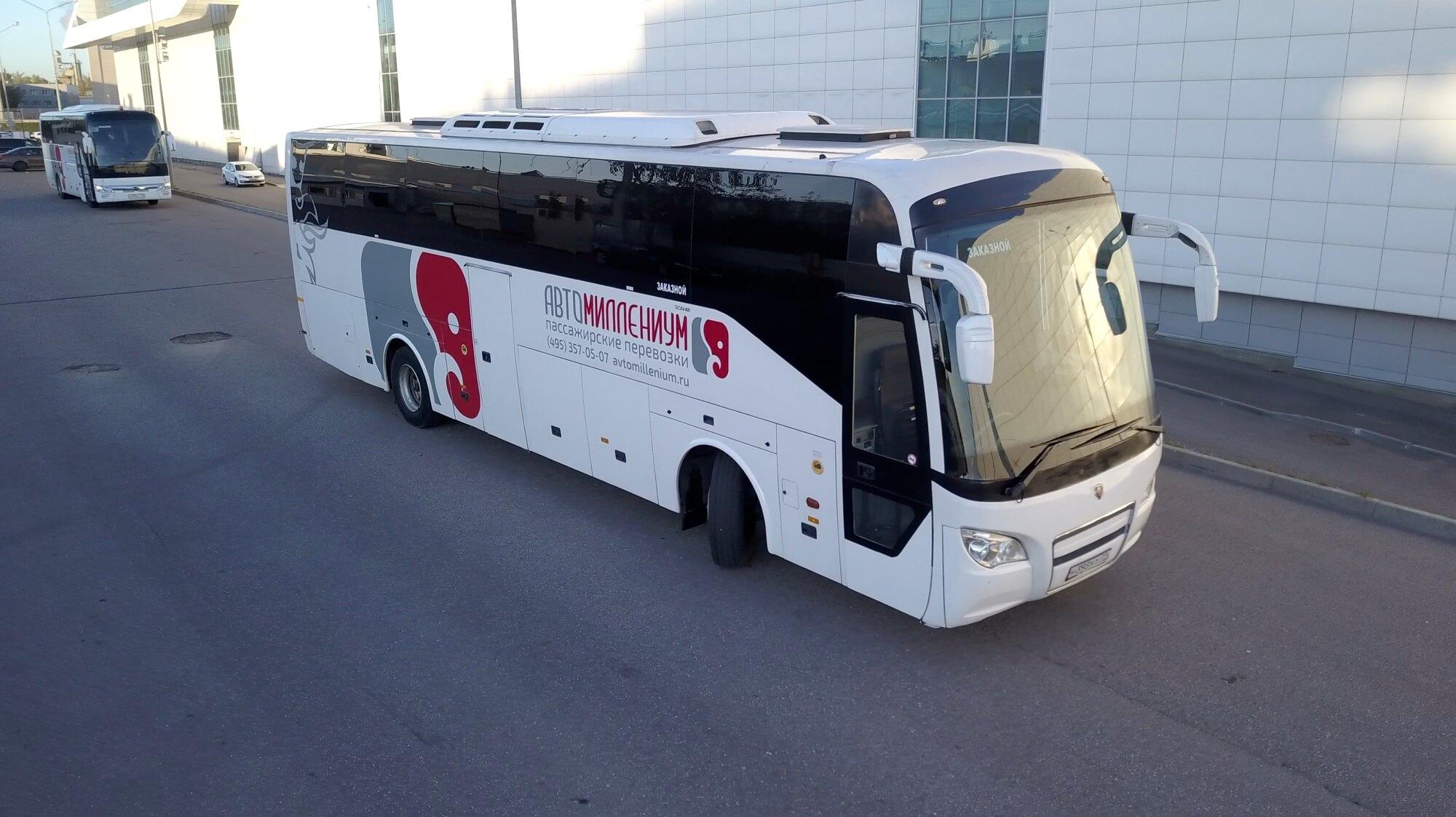 Scania Higer А80 (709, 953, 956) 51+1 - аренда автобуса в Москве.